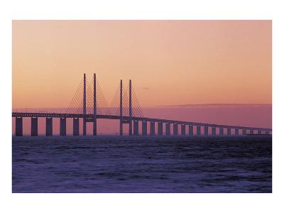 Suspension Bridge--Art Print