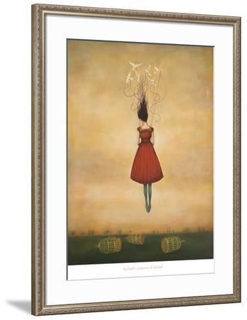 Suspension of Disbelief-Duy Huynh-Framed Art Print