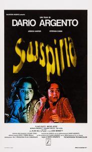 Suspiria, Italian Poster Art, Jessica Harper, 1977