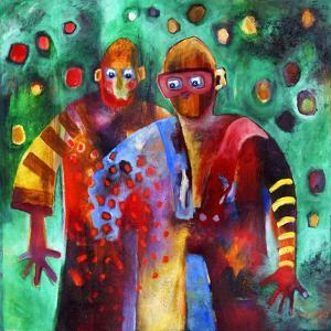 Two Men Dancing in the Same Trousers by Susse Volander