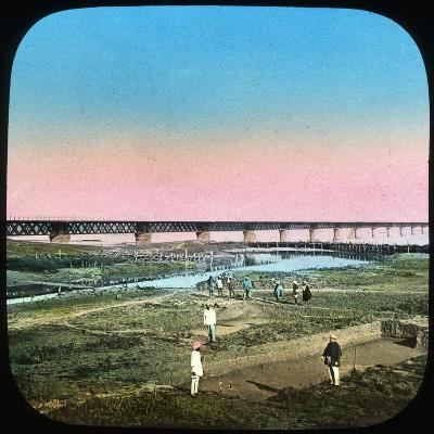 Sutlej Bridge, India, Late 19th or Early 20th Century--Giclee Print