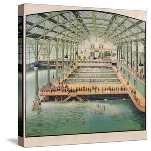 Beautiful Swimming Pools canvas artwork for sale, Posters and Prints