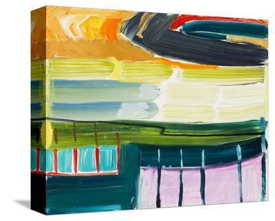 Sutro Trail Walk-Joan Davis-Stretched Canvas Print