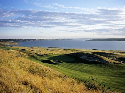 Sutton Bay Golf Club, Hole 15-Stephen Szurlej-Premium Photographic Print