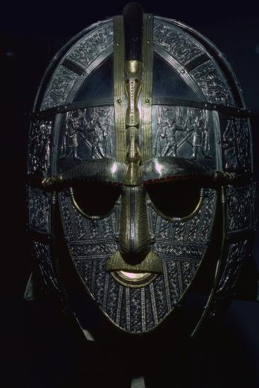 Sutton Hoo Helmet (reconstruction). Artist: Unknown-Unknown-Photographic Print