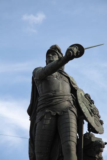 Suvorov Monument, St Petersburg, Russia, 2011-Sheldon Marshall-Photographic Print