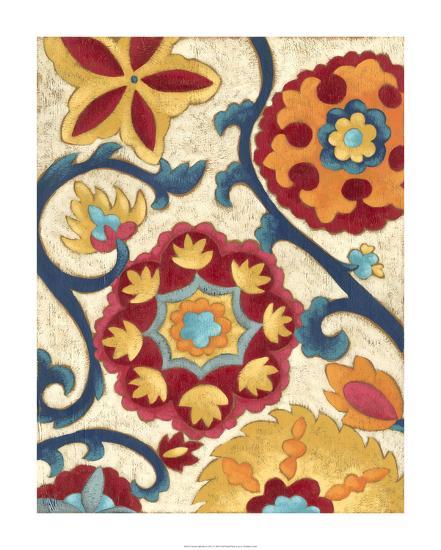Suzani Splendor I-Chariklia Zarris-Premium Giclee Print