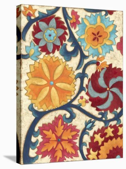 Suzani Splendor II-Chariklia Zarris-Stretched Canvas Print