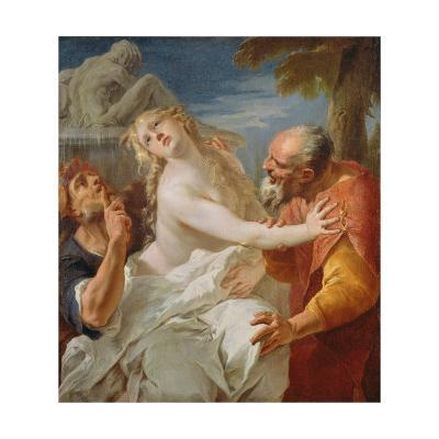 Suzanna and the Elders-Francesco Bernardini-Giclee Print