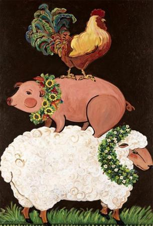 Barnyard Friends by Suzanne Etienne