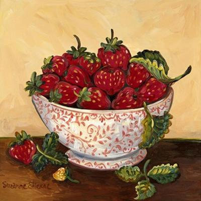Bowl of Strawberries by Suzanne Etienne