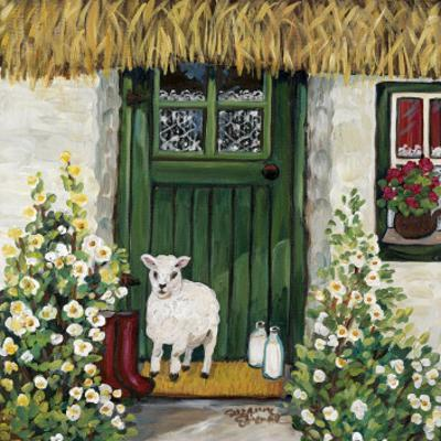 Green Door by Suzanne Etienne