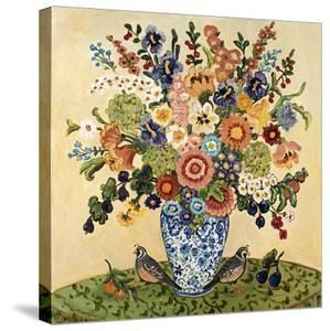 Quail Floral by Suzanne Etienne