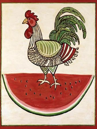 Summer Rooster by Suzanne Etienne