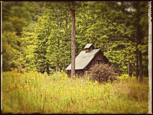Country Barn 1 Vintage by Suzanne Foschino