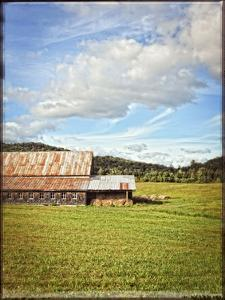 Country Barn 5 Vintage by Suzanne Foschino