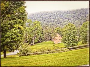 Country Mountain Home Vintage by Suzanne Foschino