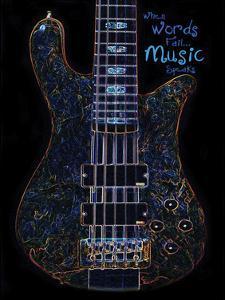 Neon Bass by Suzanne Foschino