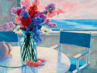 Sweet Peas by the Sea by Suzanne Hoefler
