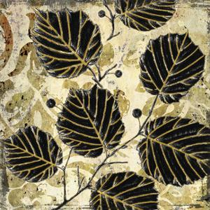 Abstract Leaves II by Suzanne Nicoll