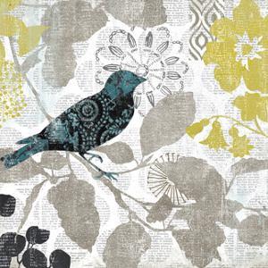 Bird on Branch II by Suzanne Nicoll