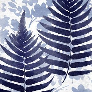 Blue Leaves I by Suzanne Nicoll