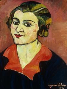 Autoportrait, 1934 by Suzanne Valadon