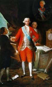 Don Jose Monino, Count Floridablanca (1728-1808), Painted Around 1783 by Suzanne Valadon