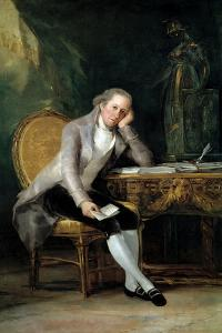 Gaspar Melchor De Jovellanos, 1798 by Suzanne Valadon