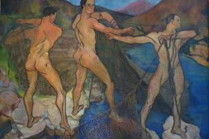 Hauling the Nets, 1914 by Suzanne Valadon