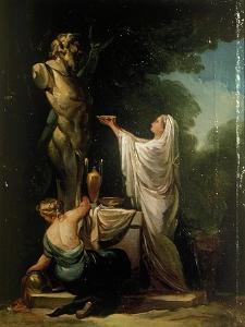 Sacrifice to Pan by Suzanne Valadon