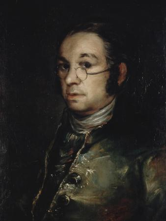 Self Portrait with Glasses, 1798-1800