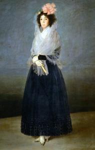 The Countess Del Carpio, Marquess De La Solana (1757-1795) by Suzanne Valadon