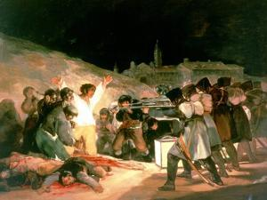 The Shootings of May 3rd 1808, 1814 by Suzanne Valadon