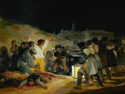 The Third of May, 1808, Painted in 1814