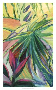 Jardin Abstracto I by Suzanne Wilkins
