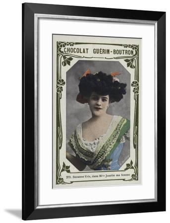 Suzanne Yris, Dans Mademoiselle Josette Ma Femme--Framed Giclee Print