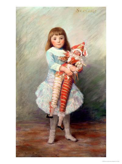 Suzanne-Pierre-Auguste Renoir-Giclee Print
