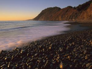 Lost Coast at Sunset, Jones Beach, Synkyone Wilderness State Park, California by Suzi Eszterhas/Minden Pictures