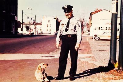 Suzie the Railroad Dog--Photographic Print
