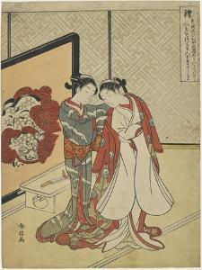 Decorum, 1767 by Suzuki Harunobu