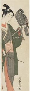 Falconer, 1769-1770 by Suzuki Harunobu