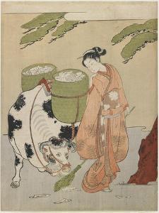 Mitate of an Oxherder, C. 1767 by Suzuki Harunobu