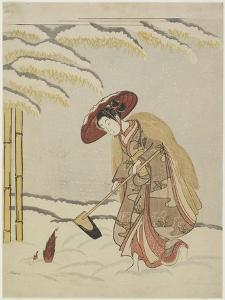 Mitate of Meng Zong, One of the Twenty-Four Paragons of Filial Piety, after 1765 by Suzuki Harunobu
