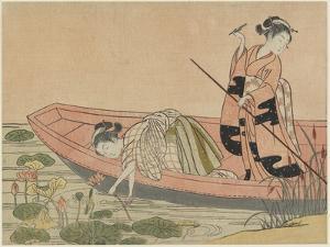 Mitate of Zhou Maoshu, after 1765 by Suzuki Harunobu
