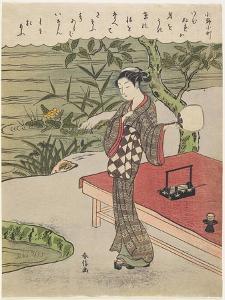 Ono No Komachi, C. 1767 by Suzuki Harunobu
