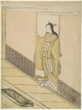 "Parody of Kawachi-goe from ""Tales of Ise"", 1765"