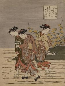 The Jewel River at Ide, from the Series 'The Six Jewel Rivers' by Suzuki Harunobu