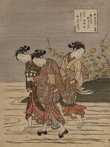 The Jewel River at Ide', from the Series 'The Six Jewel Rivers' by Suzuki Harunobu