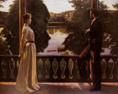 Nordic Summer Evening, 1899-1900 by Sven Richard Bergh